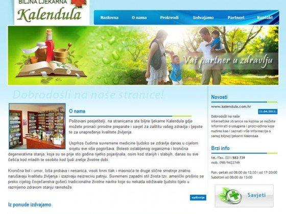 Biljna ljekarna Kalendula