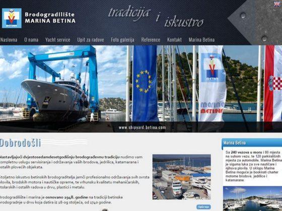 Brodogradilište Betina