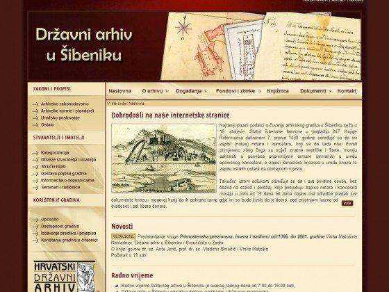Državni arhiv – Šibenik