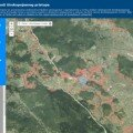 Interaktivna karta internetskog pristupa u Hrvatskoj